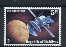 Mint Never Hinged/MNH Maldivian Space Asian Stamps