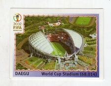 figurina - CALCIATORI PANINI KOREA JAPAN 2002 NEW - N. 7 DAEGU STADIO