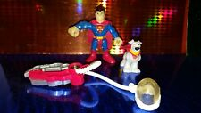 Fisher Price Imaginext DC Super Friends Superman & Superdog Krypto