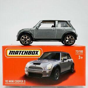 Matchbox 2003 MINI COOPER S Mint in Box