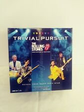 TRIVIAL PURSUIT THE ROLLING STONES Collector's Edition Game Pristine!