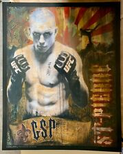 """UFC Poster George St- Pierre """"27X34"""" NEW! (2009)"""