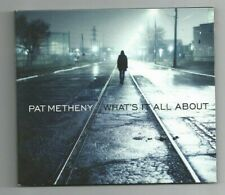 PAT METHENY solo baritone guitar CD What's It All About 2011 Nonesuch digipak
