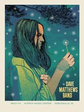Dave Matthews Band Poster 2014 Noblesville N2 Numbered #/1065 Rare!!!