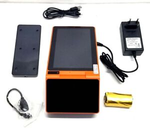 7 Inch Touch Screen Handheld Mobile Android POS Smart Thermal Printer