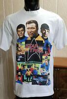Vintage 1991 Star Trek Enterprise 25th Anniv Paramount Pictures T-Shirt Size XL