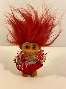 Vintage Russ Trolls Cheerleading Cheerleader Troll Red Hair Outfit