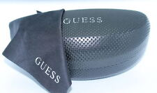 Authentic GUESS New BLACK Designer HARD Sunglasses CASE
