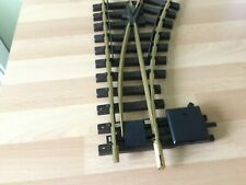 LGB 12000 G SCALE MODEL RAILWAY BRASS TRACK R1 RIGHT HAND MANUAL POINT