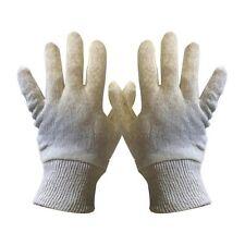 "Ladies Pro-tough cream lining gloves 0010H 384 Pairs One Size 9"""