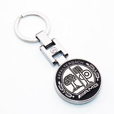 NEW 3D Mercedes-Benz AMG Sport Logo Alloy Car Home Keychain Ring Decoration Gift