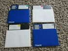 """PFS: First Choice & Dictionary Disk 5.25"""" Floppy disks untested unknown version"""