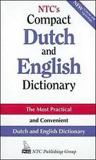 NTC's Compact Dutch and English Dictionary by Ntc Publishing Group (English)
