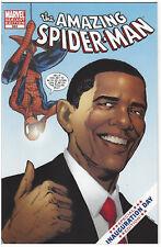 AMAZING SPIDER-MAN #583 (Obama Inauguration Day variant) 1st Print (NM-) unread?