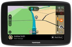 Tomtom GO Basic Navigation 6 Pouces Stauvermeidung Mises à Jour Sur Wi-Fi