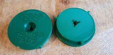 "More details for green 10.5"" nab hub adapters pioneer teac tascam akai pp-220a 1 pair"
