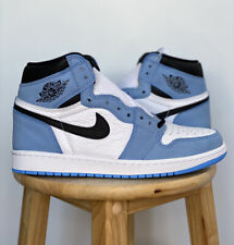 Air Jordan 1 Retro High OG University Blue White 555088 134 Size 9 Brand New