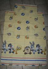 Bettausstattung Betthimmel Betnest  und Bettwäsche Baby  Bugs Bunny Gelb