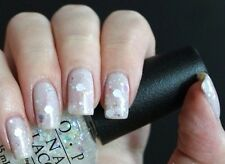 OPI Gwen **SNOW GLOBETROTTER** White Glitter Fleck Nail Polish Lacquer F16 New!
