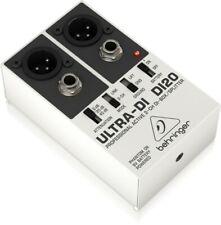 Behringer DI20  Ultra-DI  Professional Active 2-Channel DI-Box / Splitter