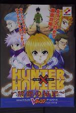 JAPAN Hunter x Hunter Kindan no Hihou (Game Boy Color-Ban) Guide Book