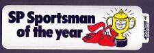 Vintage 210 x 60 mm Dunlop S.P Sportsman of The Year Groundhog Sticker  (AP4)
