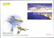 BRD 2010: Vogelwarte Helgoland! Post-FDC mit Block 77! Sonderstempel Berlin! 1A