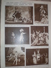 Photo article ballet Purcell The Fairy Queen Covent Garden London 1947