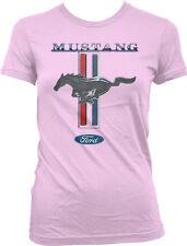 Ford Mustang Shelby Cobra Logo 5.0 Racing Car Muscle GT500 GT350 Juniors Tshirt
