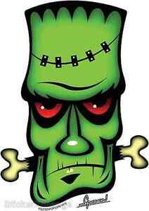 Frank The Crank Sticker Decal Chico Von Spoon CVS3 Frankenstein