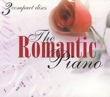 The Romantic Piano [Box] by Various Artists (CD, Sep-2002, 3 Discs, Madacy Reco…