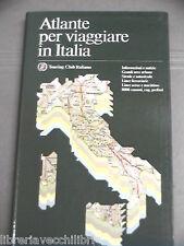 ATLANTE PER VIAGGIARE IN ITALIA Touring Club Italiano Prima edizione 1992 Viaggi