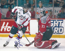 Spitfires TAYLOR HALL Signed Memorial Cup Photo New Jersey Devils
