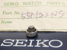 ORIGINAL SEIKO CROWN Part Number 55M22NS For Cronograph 6138-0011 and More