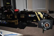 Lotus F1 Racing Simulator Cockpit PC iRacing Assetto Corsa Project Cars 2