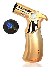 ZICO QUADRUPLE REFILLABLE TORCH LIGHTER 4 FLAMES EASY SOFT IGNITION