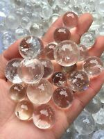 14-18pc Clear Quartz Stone Sphere~ For Crystal Healing , Reiki ,Chakra grid ball
