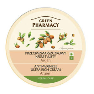 Green Pharmacy Argan Oil Anti-wrinkle Ultra Rich Dry Skin Face Cream 150ml