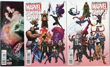 All-New All-Different Point One #1 - 3 different Variant Editions  NM 9.4  2015
