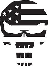 Punisher-Skull-USA-Flag-Vinyl-Decal-Car-Truck-Die-Cut-Window-Sticker-US-America