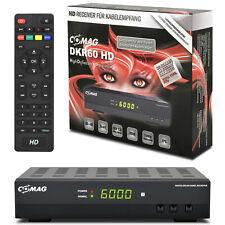 HDTV FULL HD HDMI Digital KABEL Receiver COMAG DKR60 DVB-C USB TV Kabelreceiver