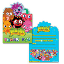Moshi Monster Thank you Cards (Pack of 6)