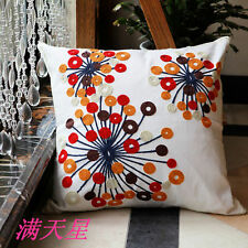 Cotton Blend Fashion Bedroom Decorative Cushion Covers
