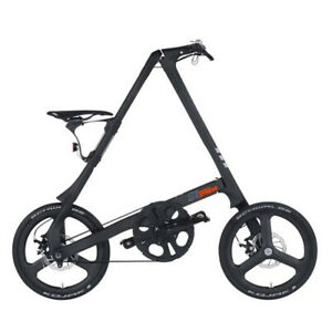 STRIDA C1 Carbon 18 Inches Folding Bike Citybike Black