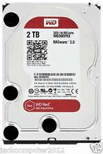 "New WD RED WD20EFRX NAS 2TB 3.5"" Internal Hard Drive 6Gb/s 64MB SATA 2 TB PC HDD"