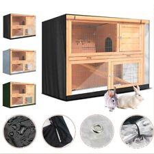 Bunny Rabbit Hutch Cover Outdoor Waterproof Small Pet Crate Cover UV Resistan
