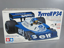 New Tamiya Rc 1/10 Tyrrell P34 6 Wheeler Racing F-1 Racing Car w/ Battery Motor
