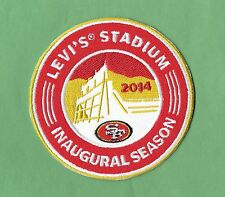 """New San Francisco 49ers Levi Stadium 4 """"Inch Iron on Patch Free Shipping"""