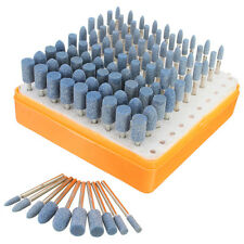 100 Schleifstifte-sortiment Schleifer Bohrer Polierer für Mini Bohrmaschinen 3mm