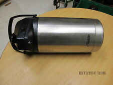 Aladdin 3-Liter Vacuum Insulated Pump Lever Airpot Commercial Stainless Steel